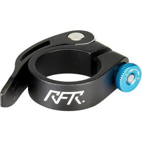 Cube RFR Seat post clamp con sgancio rapido, nero/blu